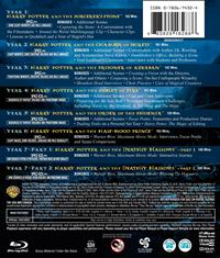 8 Disc Collector's Edition US Back Cover